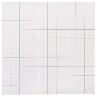 School Smart Graph Paper, 10 x 10 Inches, White, 500 Sheets, (Model: 085282) : Chart Tablets : Office Products