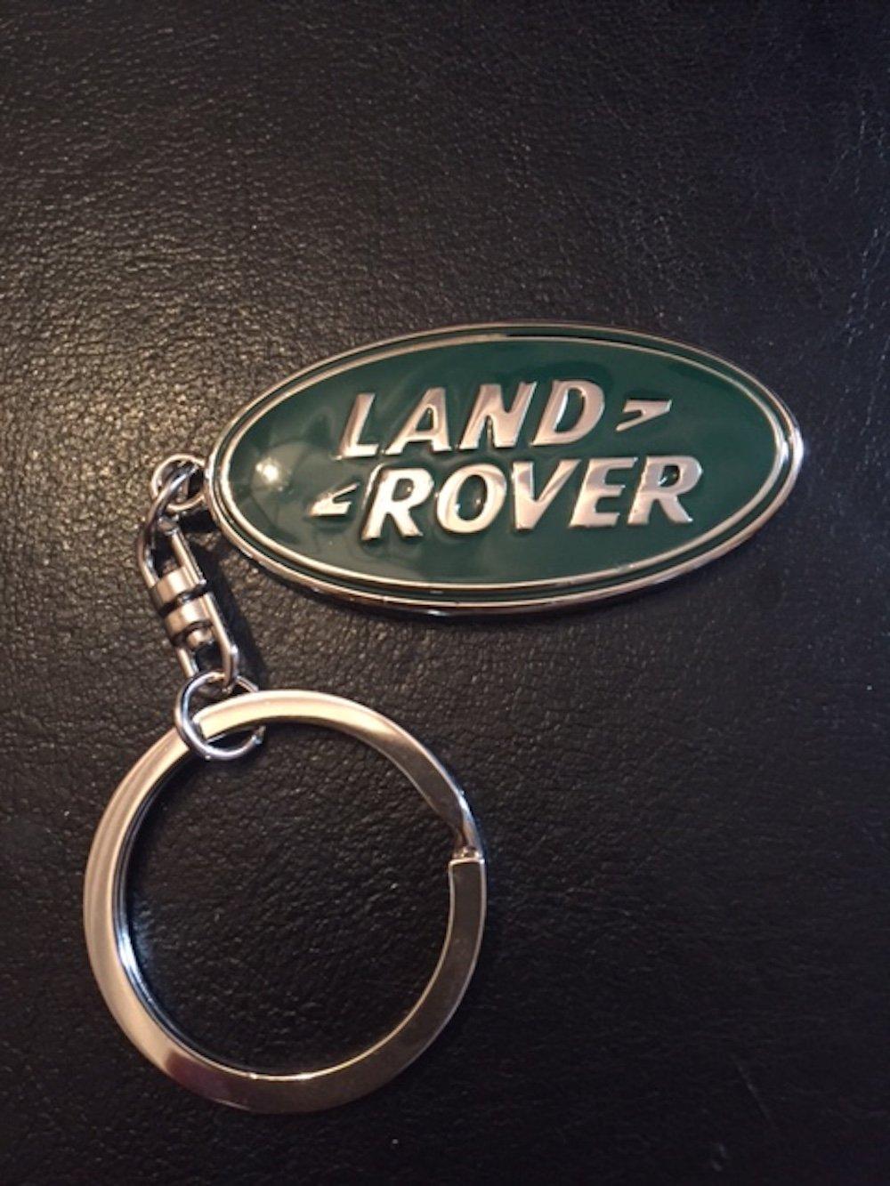 Land Rover Chrome esmalte 3d efecto llavero calidad superior ...
