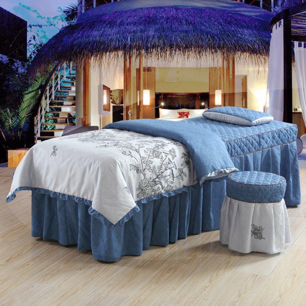 Beauty salon massage bed set Beauty bedspread Spa body bed sheet-C 180x60cm(71x24inch) Perfect Home