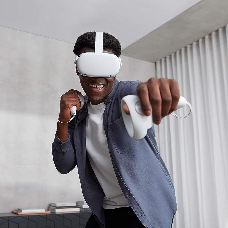 Oculus Quest 2 VR虚拟现实一体机 游戏系统 64GB $299 海淘转运到手¥2021 256GB版$399