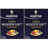Morton Salt Kosher Salt, 3 lbs, Pack of 2