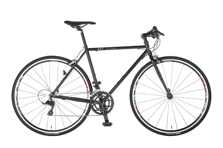 Artcyclestudio(アートサイクルスタジオ) クロスバイク f700 SORA B01BTTBN6A 500mm ブラック ブラック 500mm