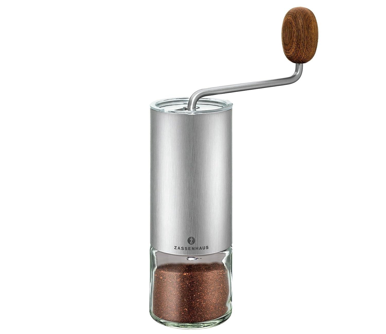 Zassenhaus 0000041095 Kaffee-/Espressomühle Quito, edelstahl, 1,000 x 1,000 x 1,000 cm M041095
