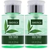 Beauty America Tea Tree Facial Toner, No-Leak, Push-Top Pump, 2 pack