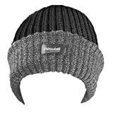 MENS RIBBED THINSULATE LINED BEANIE HAT IN MELANGE COLOURS