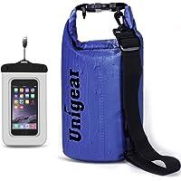 Unigear Floating Waterproof Dry Bag w/Waterproof Phone Case (Multi Color)