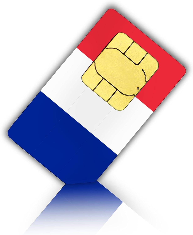 Tarjeta SIM para Francia de Nano SIM – Francés Prepaid tarjeta SIM: Amazon.es: Electrónica