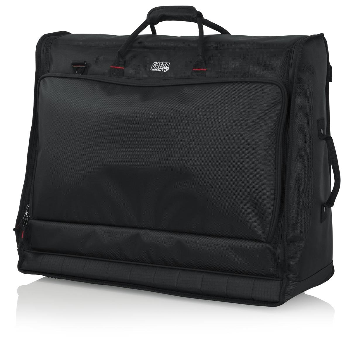 Gator Cases Padded Large Format Mixer Carry Bag; Fits Mixers Such as Behringer X32 Compact  26'' x 21'' x 8.5'' (G-MIXERBAG-2621)