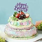 Pack of 2 Happy Birthday Cake Topper
