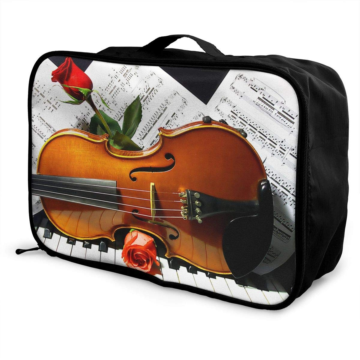 Travel Luggage Duffle Bag Lightweight Portable Handbag Musical Instruments Guitar Large Capacity Waterproof Foldable Storage Tote