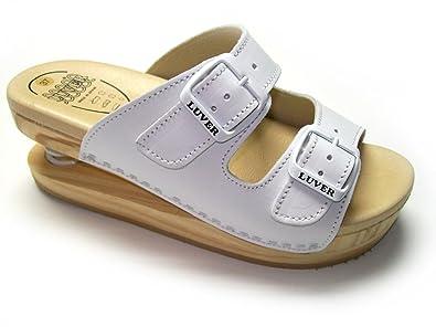 BlancMedium 2101a Couleurs Blanc Sandales Eu Avec Et Disponibles Plusieurs Luver Tailles Ressort qj35AL4R