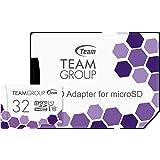 Team microSDHCカード 32GB 高速転送UHS-1 日本国内10年保証 SD変換アダプター付属 正規品