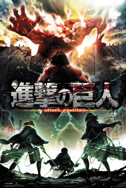 GB eye LTD, Attack On Titan, Season 2 Key Art, Maxi Poster, Wood, Various, 65 x 3.5 x 3.5 cm FP4506