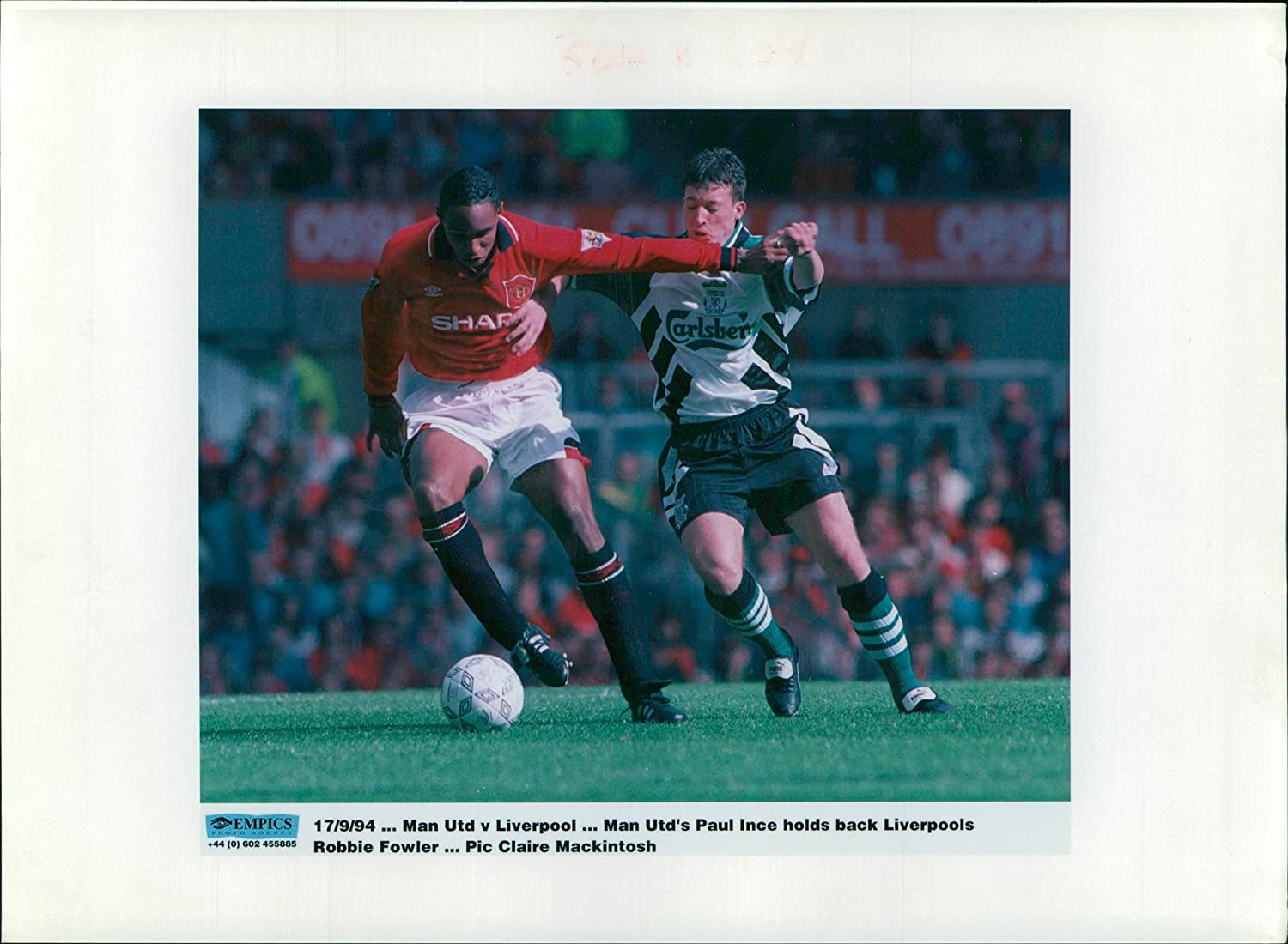 Fotomax Vintage Photo of Paul ince.