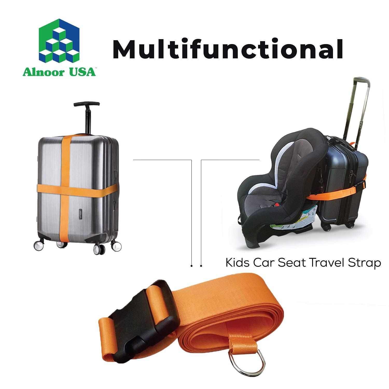 Amazon.com: Cinturón de viaje para asiento de coche con ...