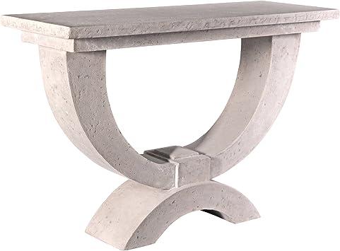 Amazon Com Design Toscano The Moderno Arch Of Stone Console Table Furniture Decor