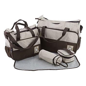 Wickeltasche Pflegetasche Kindertasche Baby Trage Handtasche Rucksack Clamaro