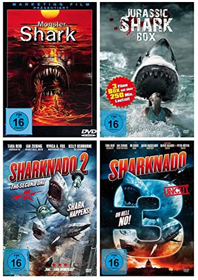 DIE HAI - COLLECTION 2 Jurassic Shark 1-3 - Monster Shark ...