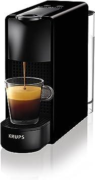 Nespresso Essenza Mini Coffee Machine With Aeroccino Black By Krups