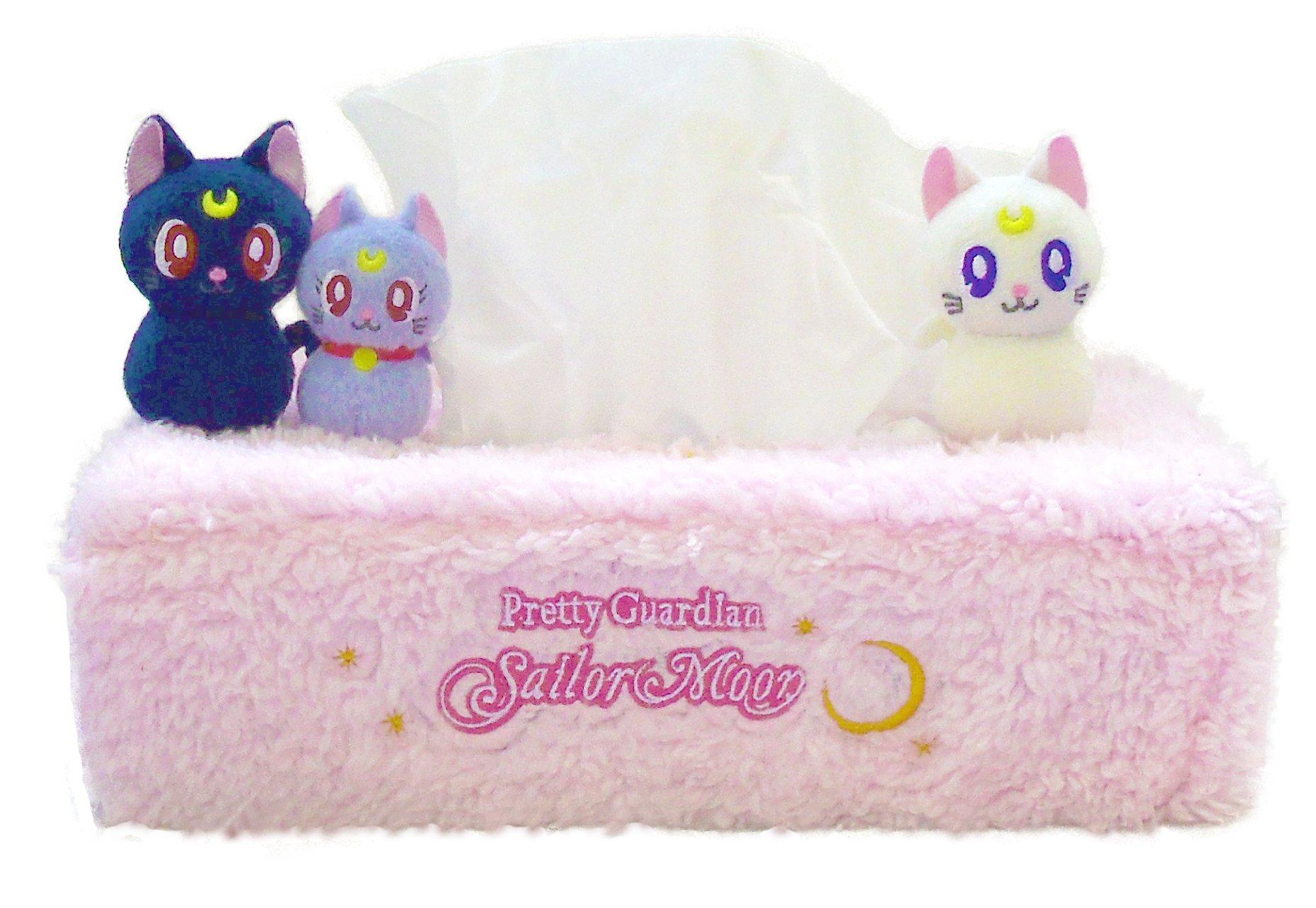 Sailor Moon diorama BOX tissue cover