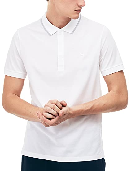78a382bba8 Lacoste Mens Short Sleeved Polo Shirt PH6394: Amazon.co.uk: Clothing