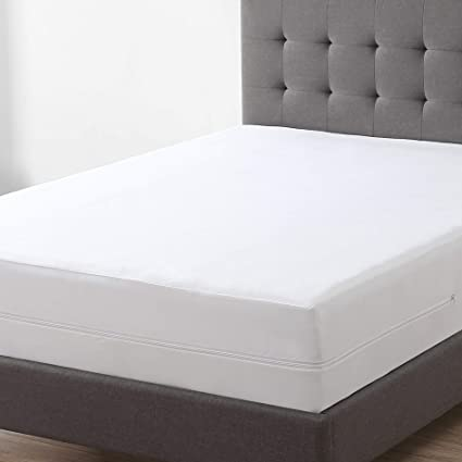 Exq Home Zippered Mattress Encasement Cal King Size 100 Bed Bug Proof Dust Mite Proof And Waterproof Mattress Protector Fits 9 12 Inch