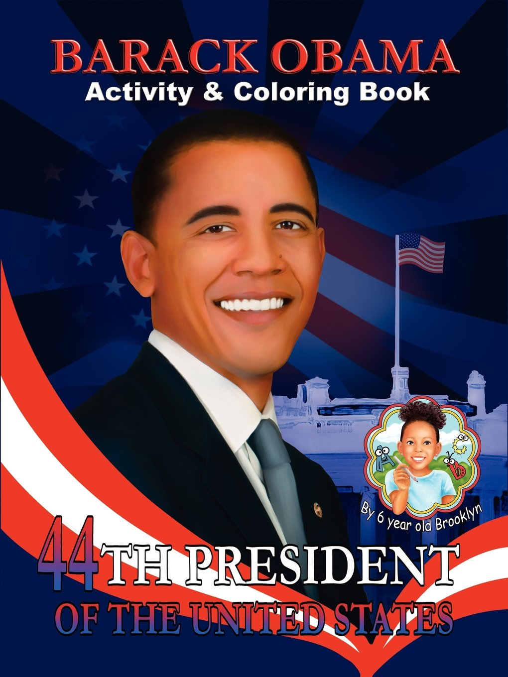 barack obama activity u0026 coloring book english and spanish edition