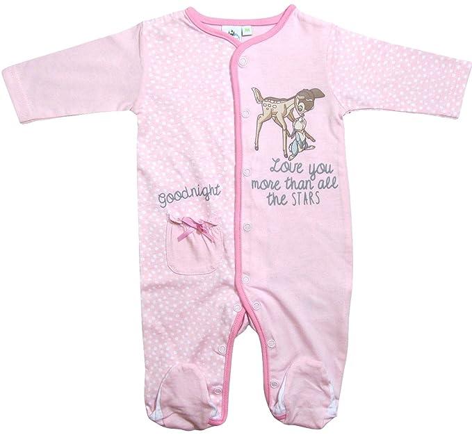 Bambi - Pelele - para bebé niña Rosa 56 cm- 62 cm: Amazon.es: Ropa y accesorios