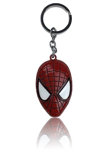 Llavero de Marvel, Spiderman Kopf: Amazon.es: Coche y moto