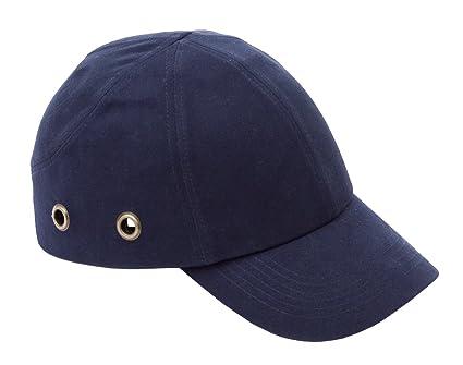 Proforce Azul Marino Seguridad – Estilo con orificios de ventilación Gorra de béisbol casco de seguridad