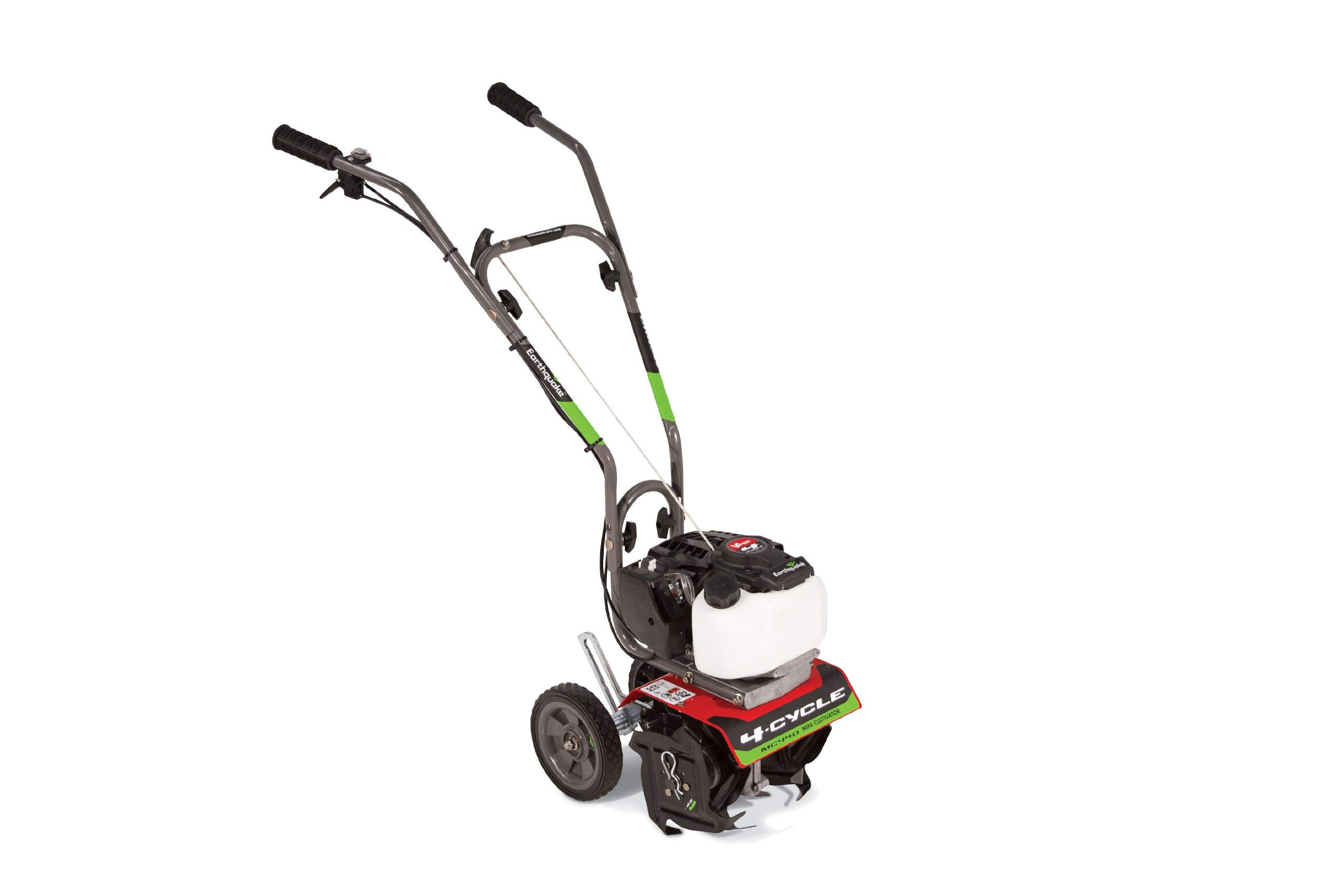 Earthquake 12802 MC440 Mini Cultivator Tiller with 40cc 4-Cycle Viper Engine, 5 Year Warranty (Renewed)