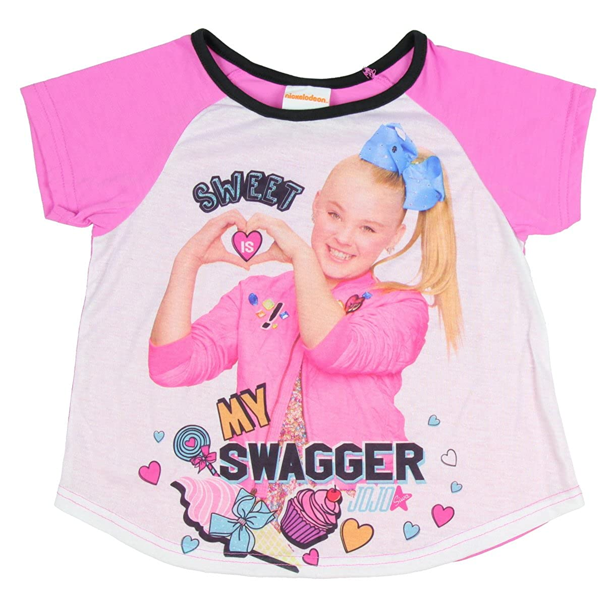 Jojo Siwa Nickelodeon Girls Sweet is My Swagger 2 Piece Pajama Set