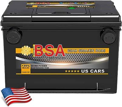 US Autobatterie 56010 60Ah 12V PREMIUM Starterbatterie für USA Cars *NEU*