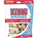 KONG - Ziggies - Teeth Cleaning Dog Treats for KONG Classic Rubber Toys - Puppy Recipe for Small Puppies (7 Ounce)