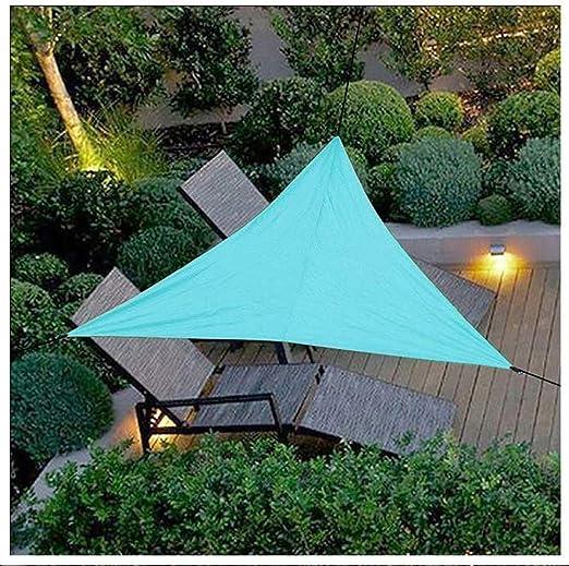 XCJ - Paño de Sombra Triangular para toldo con protección contra el Sol para Patio o Patio, pérgola: Amazon.es: Jardín