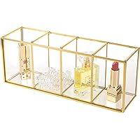 Feyarl - Soporte para Pinceles de Maquillaje (Cristal)