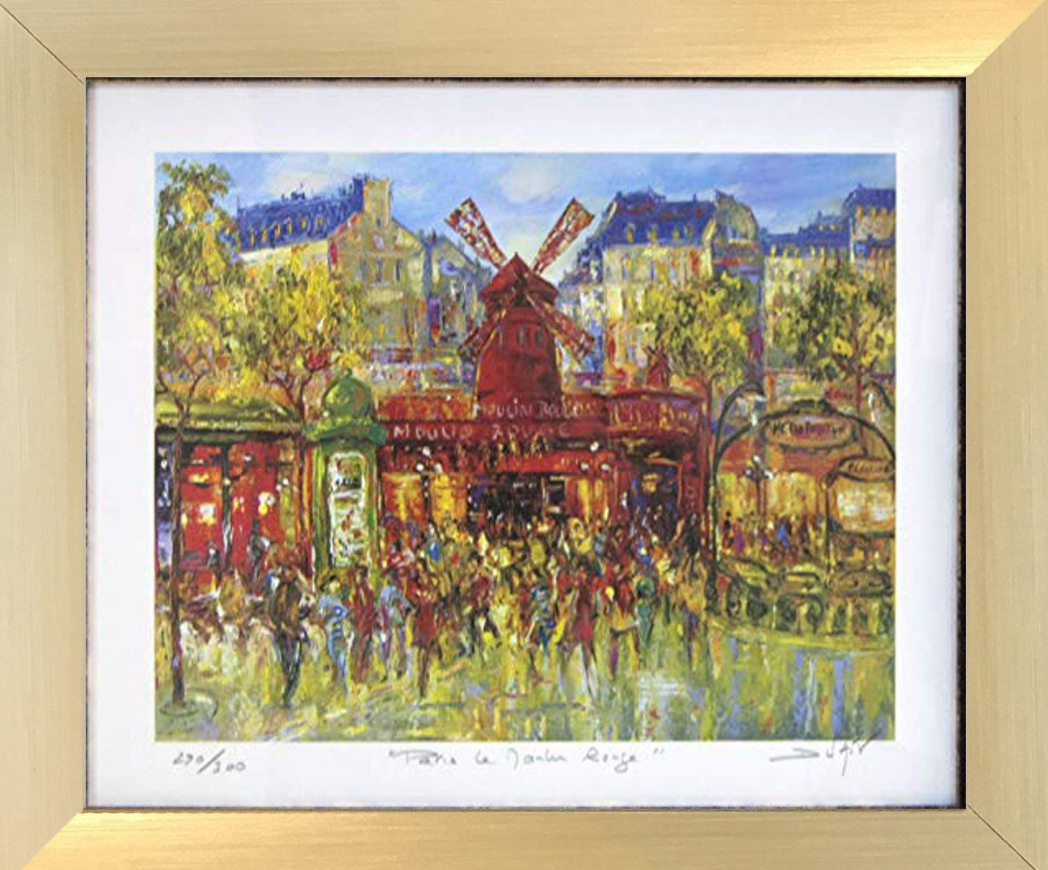 Paris Le Moulin Rouge by