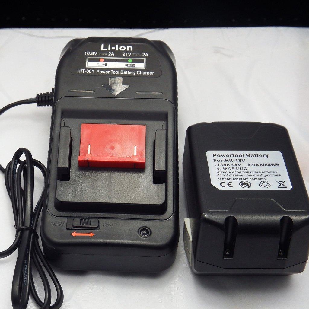 Homyl Batterie Chargeur Li-ion Accessoires Pour Hitachi 14.4v-18v Bsl1430 Bsl1830 Eu