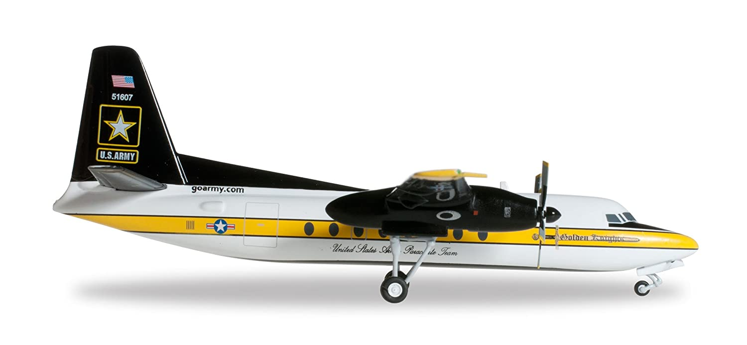 Herpa 557177 - US Army Parachute Team The Golden Knights Fokker C-31A Troopship