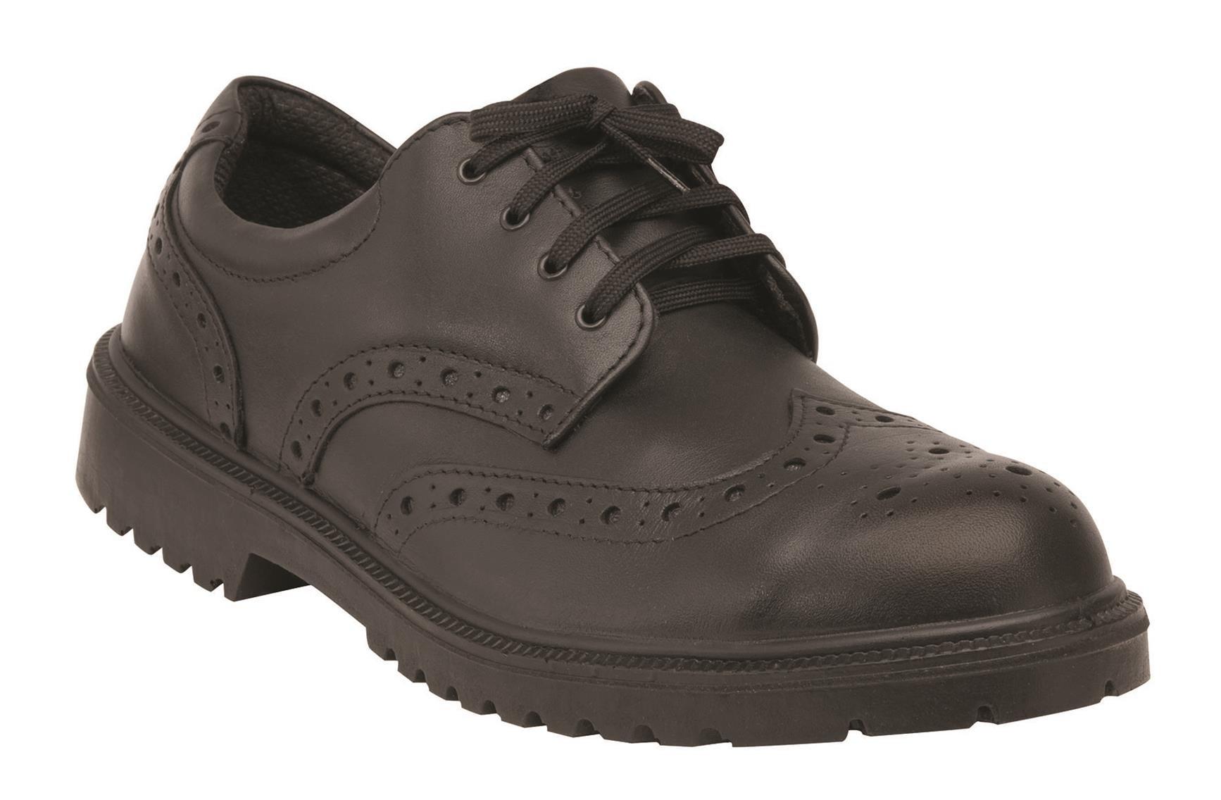 King's by Honeywell KEWT84 Steel Toe Executive WingTip, Size 6
