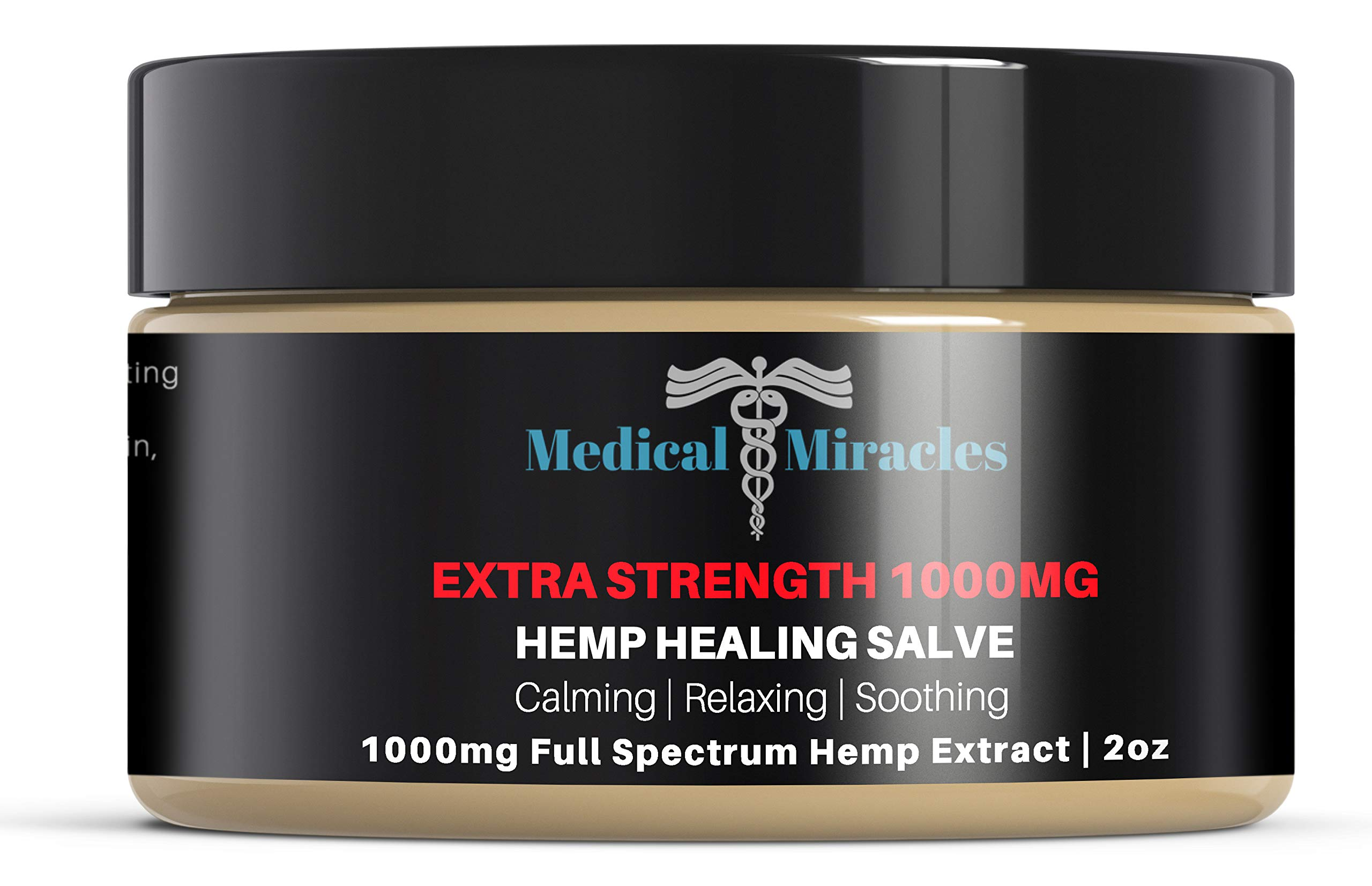 Amazon com: Hemp Pain Cream Salve - 250mg Full Spectrum Hemp