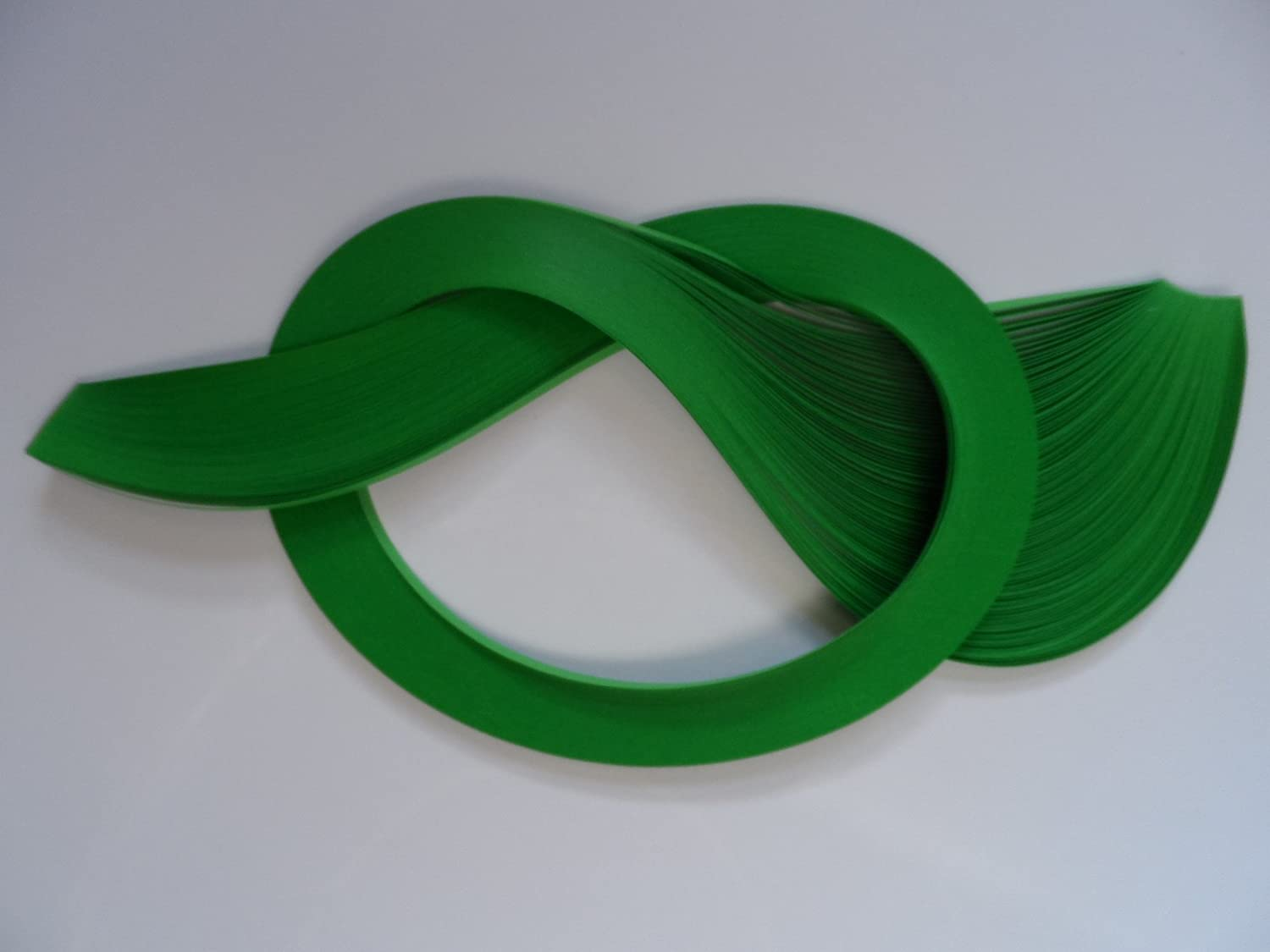 Green Quilling Paper 5mm 100 strips