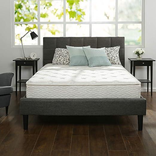 Amazon Com Zinus 10 Inch Foam And Spring Mattress Certipur Us Certified Foams Mattress In A Box King Furniture Decor