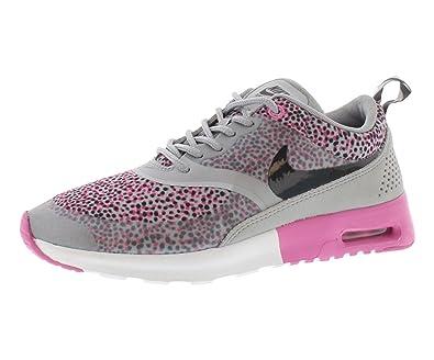Nike Air Max Thea Print Pink White Grey Women's Sports Shoes