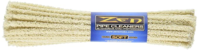 Zen 6zn 3 Bundles Pipe Cleaners Soft 132 Count (2-Pack)