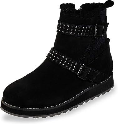 zapatos skechers botas mujer queen