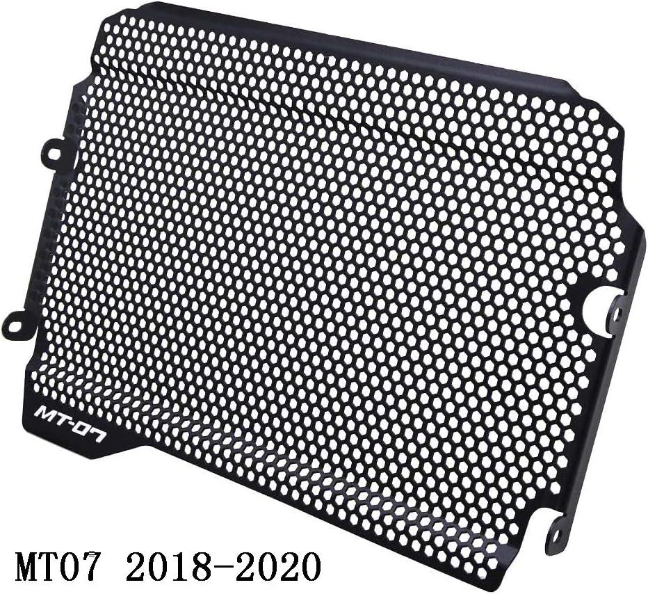 MT07 Motocicleta Aleación de Aluminio Cubierta Rejilla del Radiador para Yamaha MT-07 MT 07 MT07 2018 2019 2020-Negro