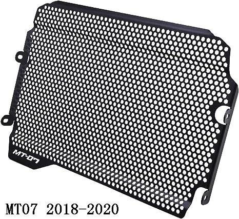 Mt07 2018 2019 2020 Motorrad Aluminiumlegierung Kühlerabdeckung Für Yamaha Mt 07 Mt07 Mt 07 2018 2019 2020 Schwarz Auto