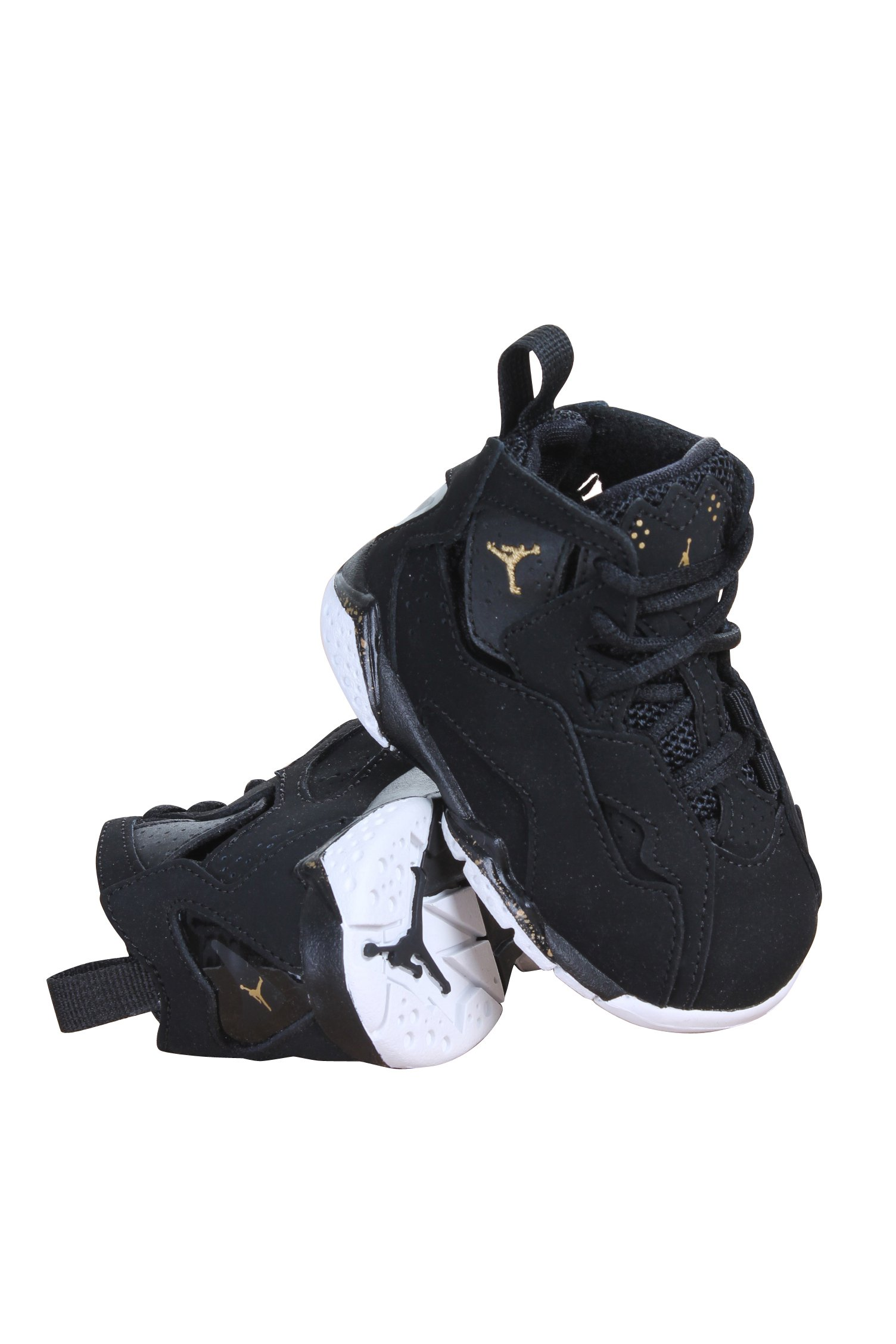 the latest d639a ce514 Galleon - Jordan True Flight Black Metallic Gold Black (TD) (7 M US Toddler)