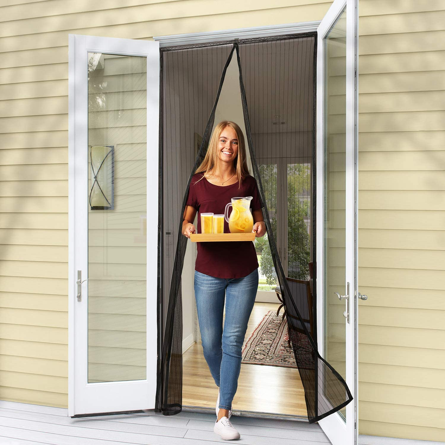 Flux Phenom Reinforced Magnetic Screen Door (Best Seller)